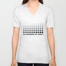 50 shades of grey Unisex V-Neck