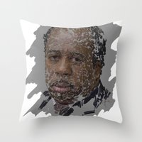 Stanley Hudson, The Office Throw Pillow