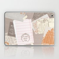 Vintage Postcards Laptop & iPad Skin