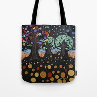:: Night Forest :: Tote Bag