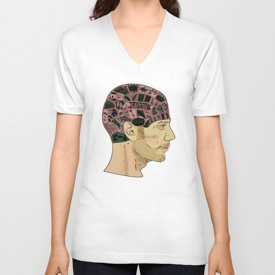 PHRENOLOGY V-neck T-shirt