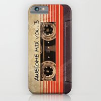 Awesome Mix Vol. 3 iPhone 6 Slim Case