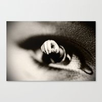 Hand-Eye Coordination Canvas Print