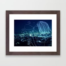 In my soul of Seoul Framed Art Print