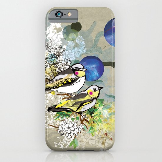 Yellow Birds iPhone & iPod Case