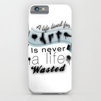 A Life Lived For Art. iPhone 6 Slim Case