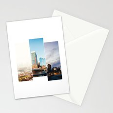 A day in Boston Stationery Cards