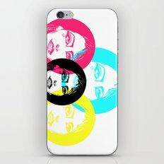 CMYK Punk iPhone & iPod Skin