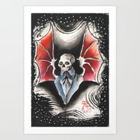 The Gentleman Demon Art Print