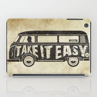 Take it Easy - tribute iPad Case