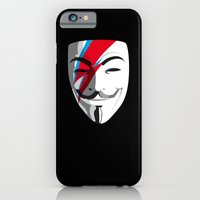 iPhone & iPod Case featuring Viggy Starfawkes – Who wants to be anonymous? by Andrew Treherne