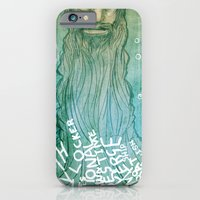 iPhone & iPod Case featuring Beard by Lee Grace Illustration