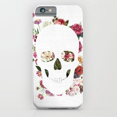 Skull Grunge Flower 2 iPhone 6 Slim Case