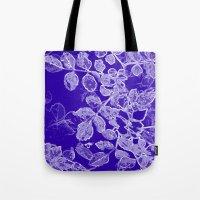 Negia Blue Tote Bag