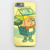 iPhone & iPod Case featuring Spoiled Milk by Joshua Kemble
