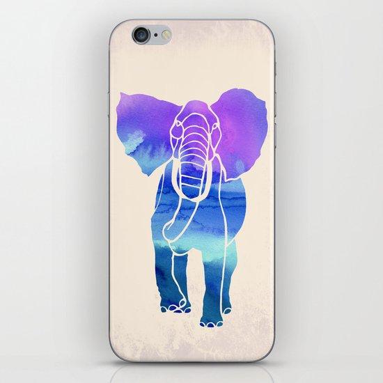 Watercolor Elephant iPhone & iPod Skin