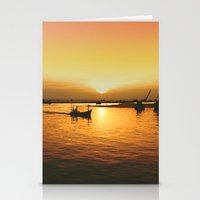 Sunset Haven Stationery Cards