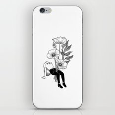Let me bloom iPhone & iPod Skin