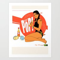 Fizzy Pop - Rock Edition 02 Art Print