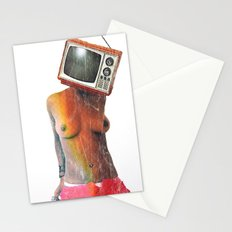 SEX ON TV by ZZGLAM Stationery Cards