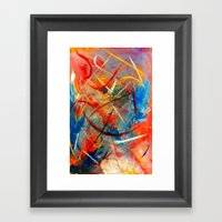 Pure Emotion Framed Art Print