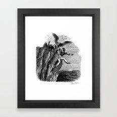 The Vulture Advocate Framed Art Print