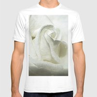 Pure Of Heart Mens Fitted Tee White SMALL
