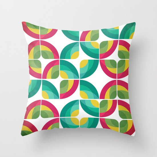 Passion Fruit Pattern Throw Pillow