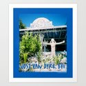 Ivan's on Jost Van Dyke, BVI- World's best honor bar! Art Print