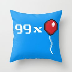 99 Extra Throw Pillow