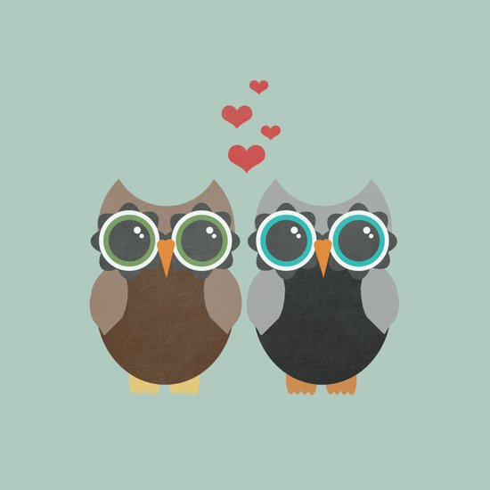 OWL LOVE YOU FOREVER Art Print