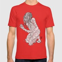 Slime Mens Fitted Tee Red SMALL
