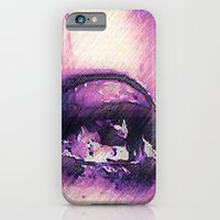 iPhone & iPod Case featuring Tears - Pencil Drawing by Amdis Rain