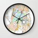 seventeenth daydream Wall Clock