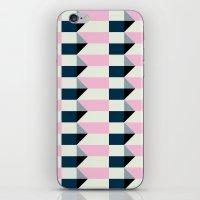 Crispijn Pink & Blue iPhone & iPod Skin