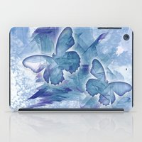 Fly butterfly fly iPad Case