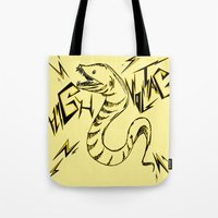 Eel Power Tote Bag
