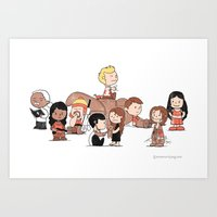 Firefly: The Gang - revised Art Print