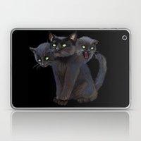 3 HEADED KITTY Laptop & iPad Skin