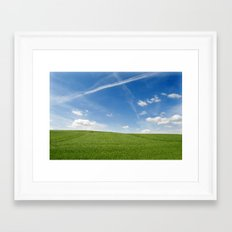 Windows Desktop Framed Art Print
