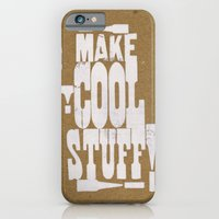 iPhone & iPod Case featuring MAKE COOL STUFF!!!!  by marcusmelton