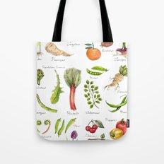 Calendar-January thru June Tote Bag