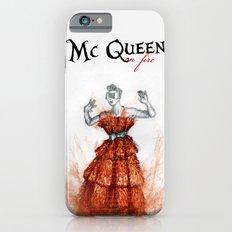 Mc Queen on fire iPhone 6 Slim Case