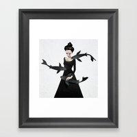 News from afar Framed Art Print