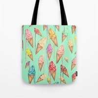 melted ice creams Tote Bag