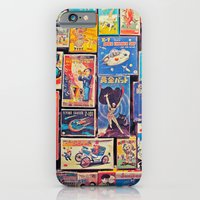 iPhone & iPod Case featuring Toy Warp by Ivan Guerrero