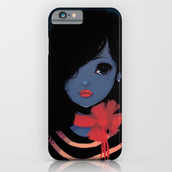 Blue. iPhone & iPod Case