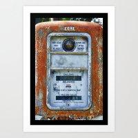 Not A Computing Pump Art Print
