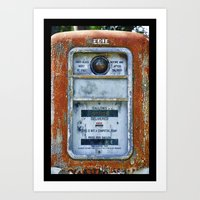 Not A Computing Pump Art Print