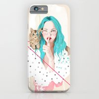 iPhone & iPod Case featuring Shhh... by Ariana Perez